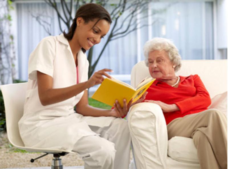 my volunteer work at a nursing home