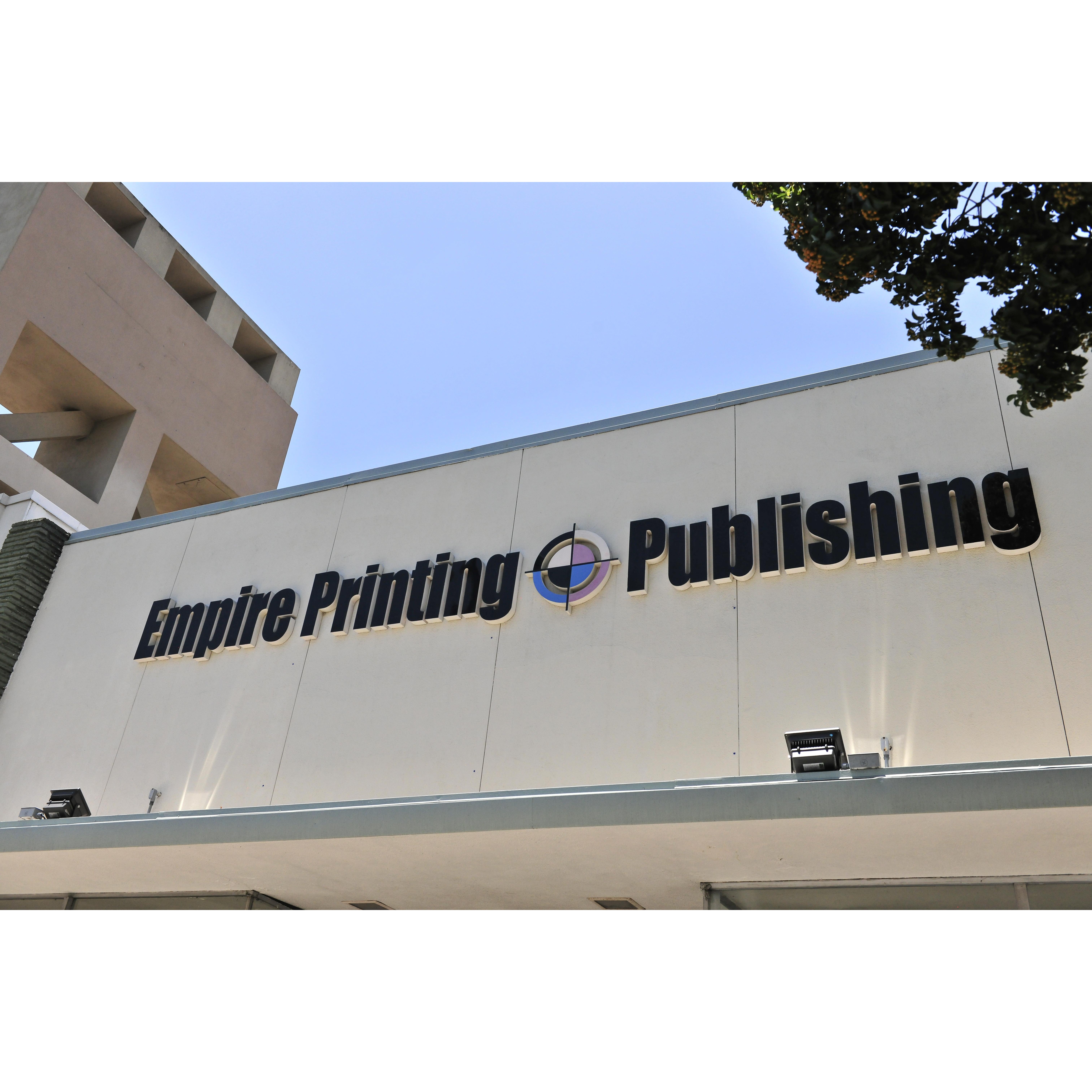 Empire printing publishing inc ontario ca for California company directory
