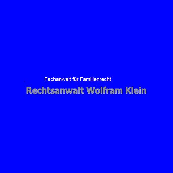 Rechtsanwalt Wolfram Klein