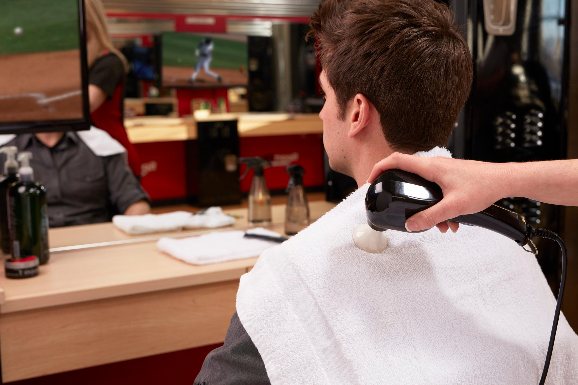 Sport Clips Haircuts of East Brunswick image 17
