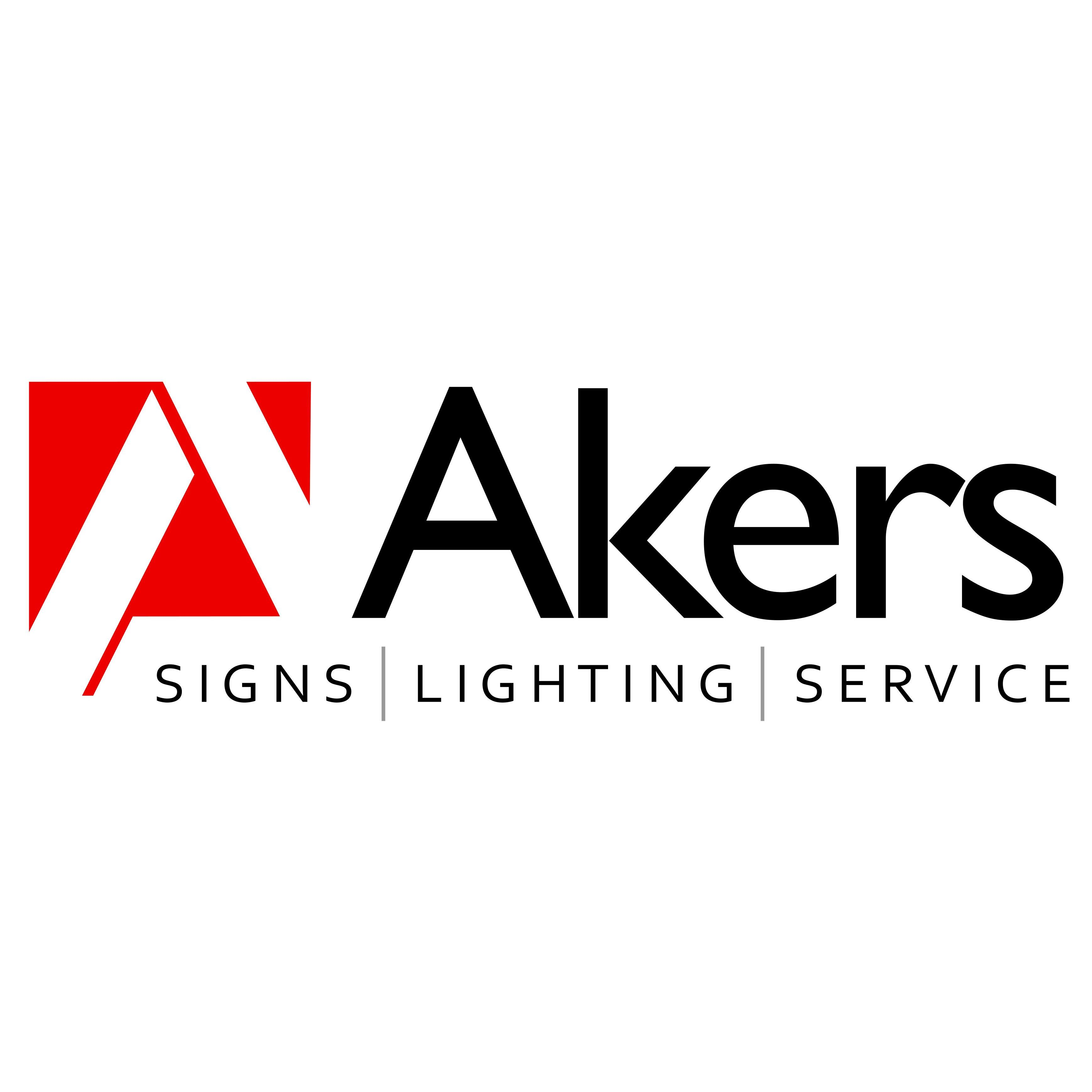Akers Signs