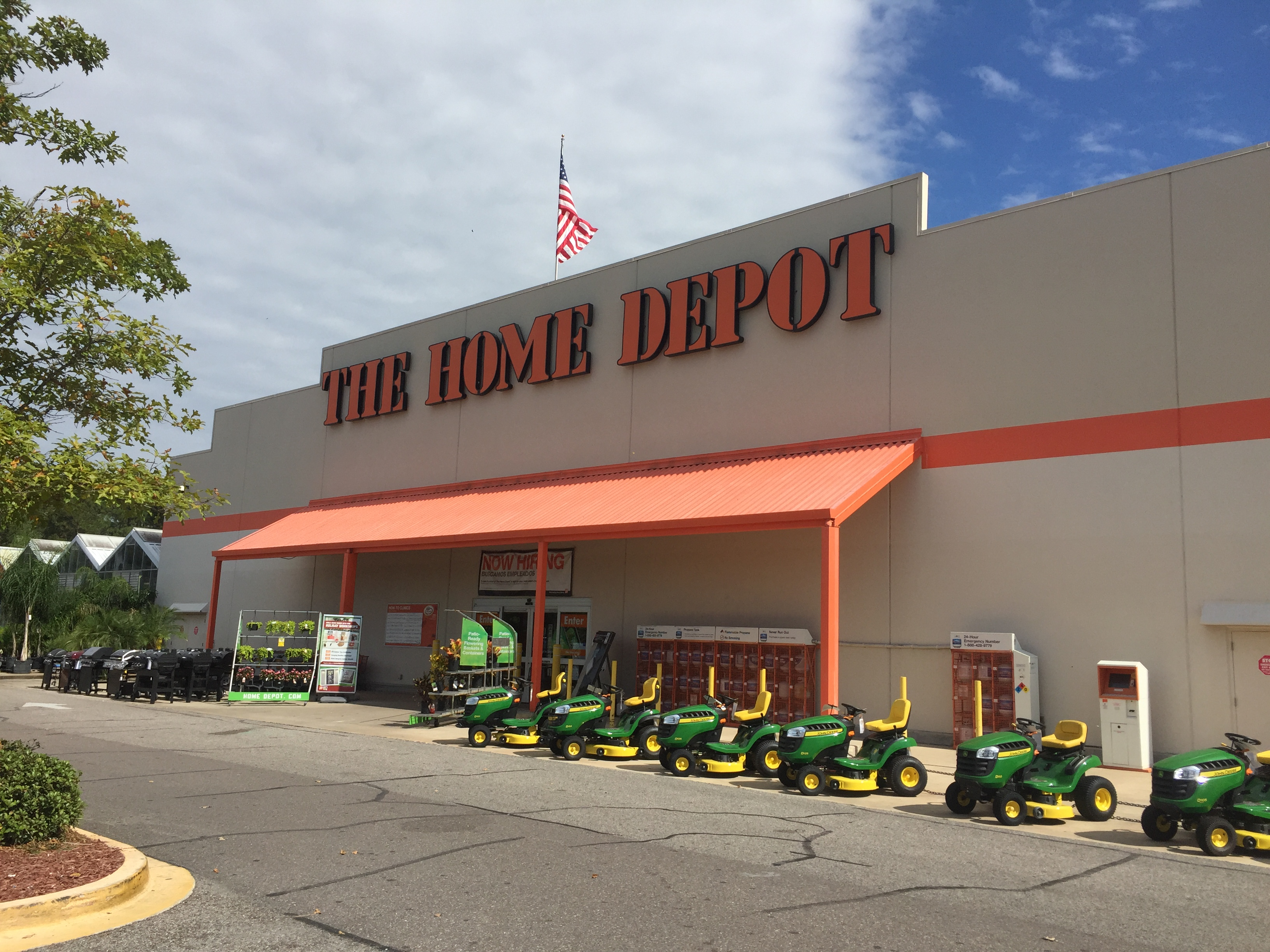 Home Depot Commercial : The home depot jacksonville fl business directory