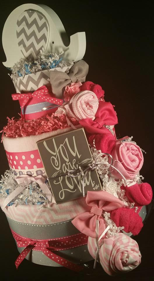 Tiers Of Joy Diaper Cakes & Gifts image 3