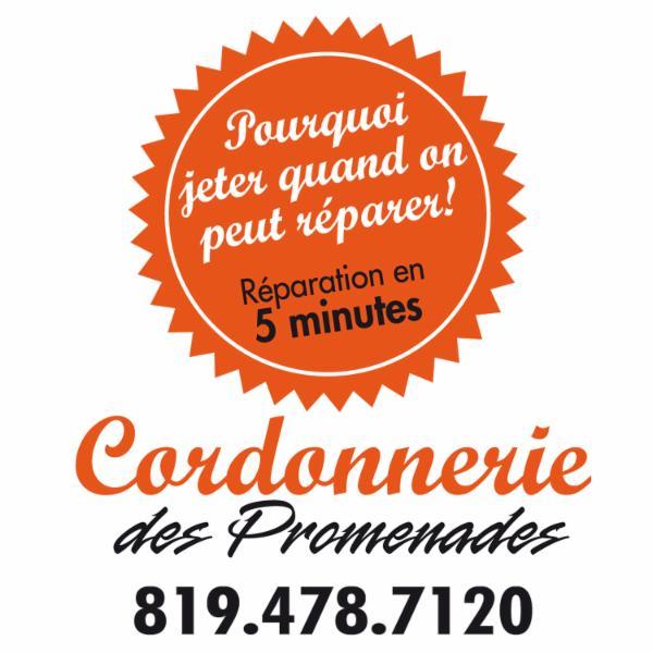 Cordonnerie Des Promenades à Drummondville