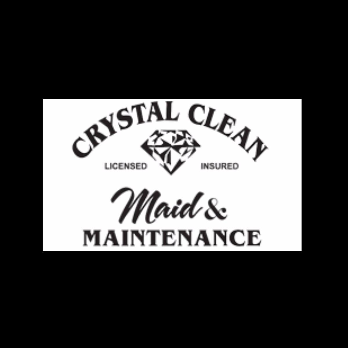Crystal Clean MAID AND MAINTENANCE INC