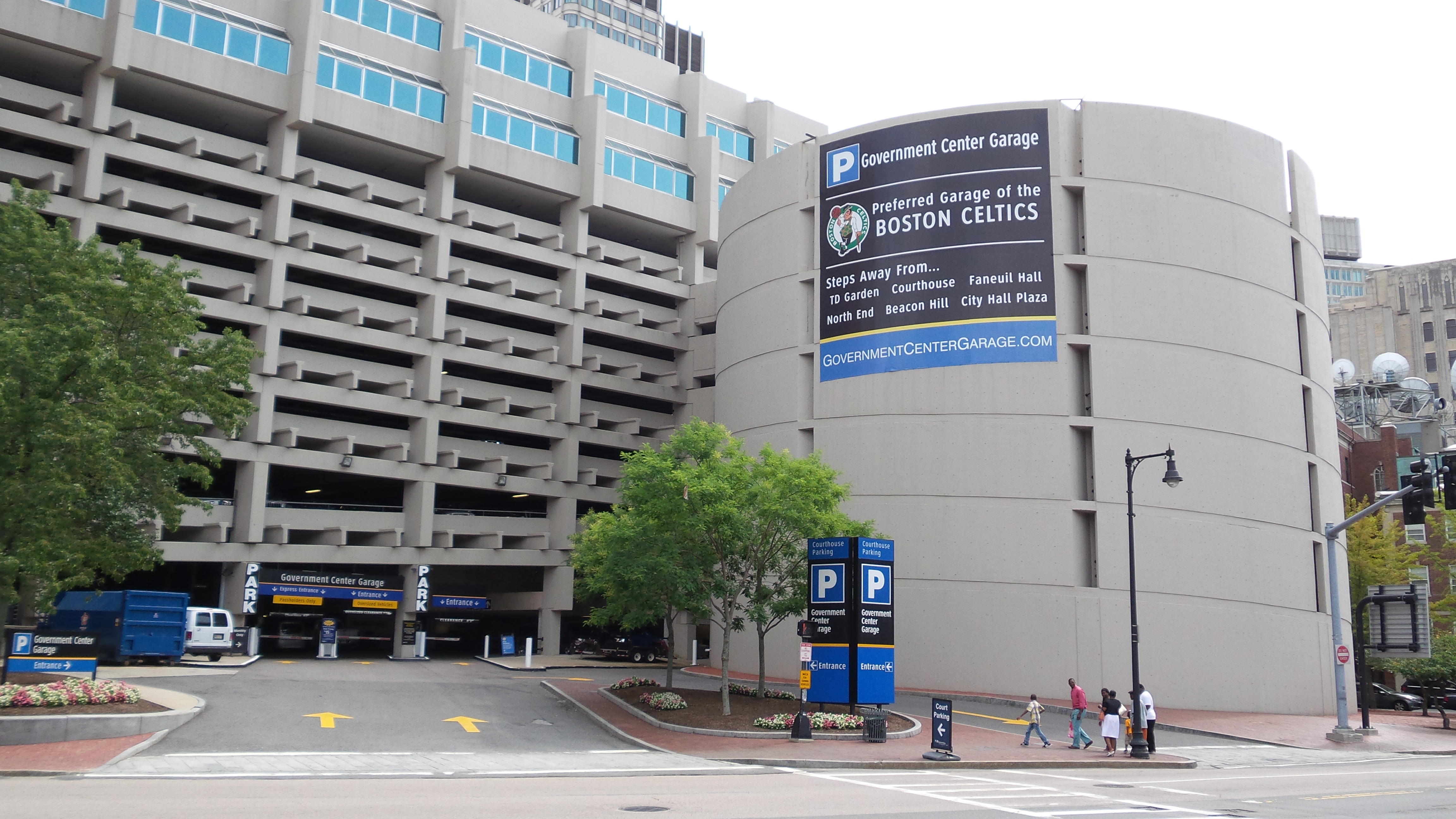 Government Center Garage 125 Bowker Street Boston Ma Parking