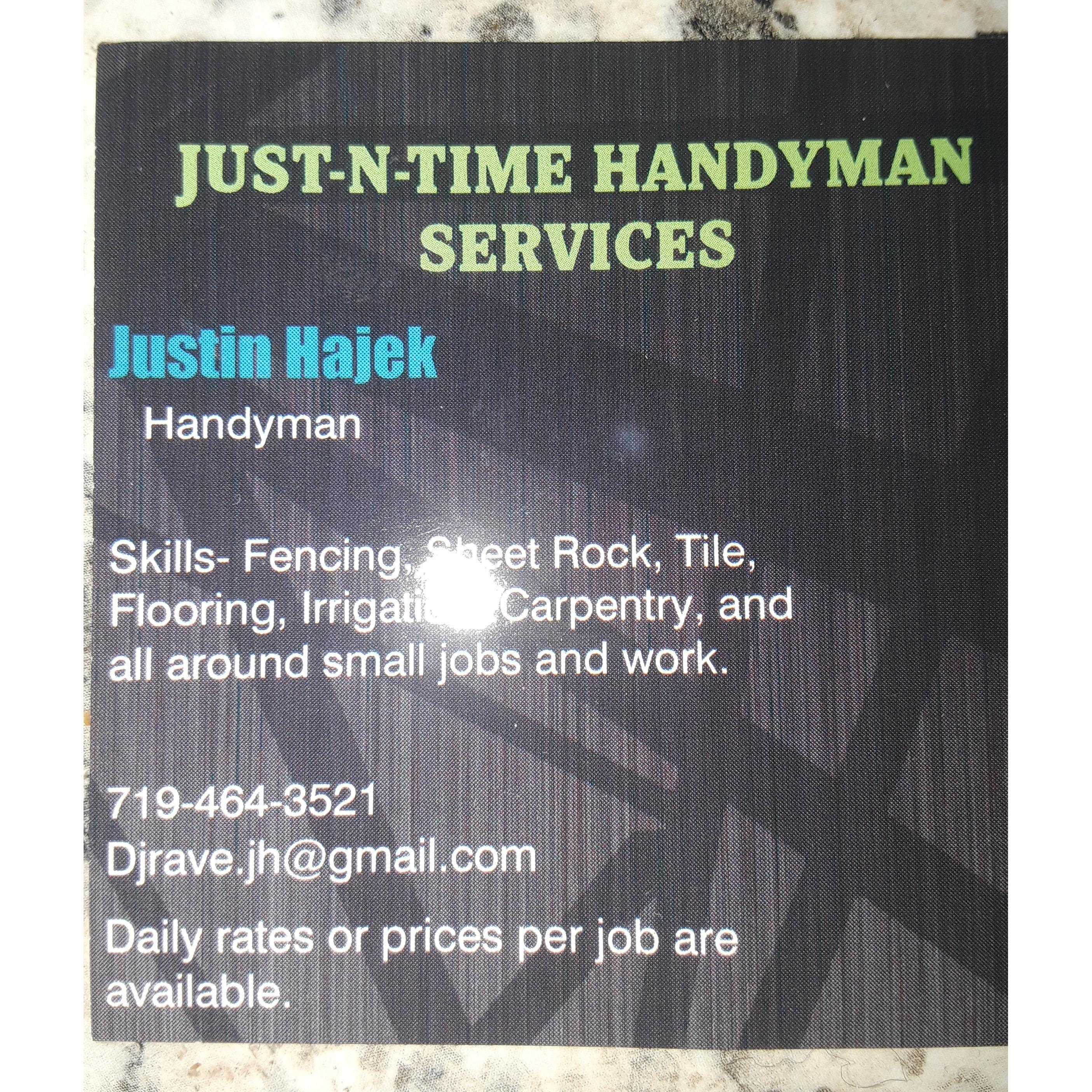 Just N Time Handyman Services