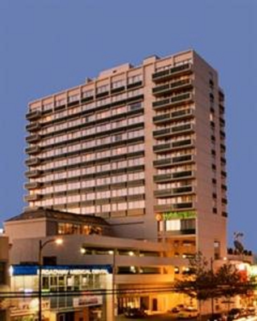 ALARA Environmental Health & Safety in Vancouver: Notable projects: Holiday Inn (Broadway)