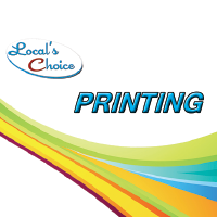 Locals Choice Printing and Direct Mail - ad image