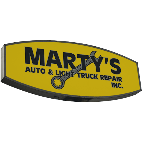 Marty's auto & Light truck repair, Inc.