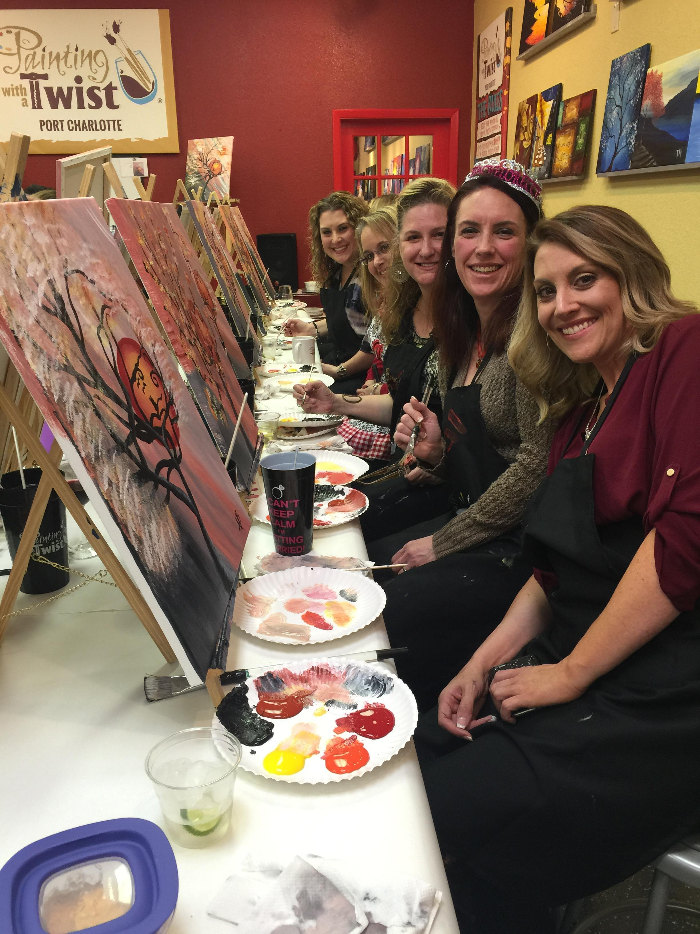 Port charlotte fl painting with a twist find painting for Painting with a twist charlotte nc