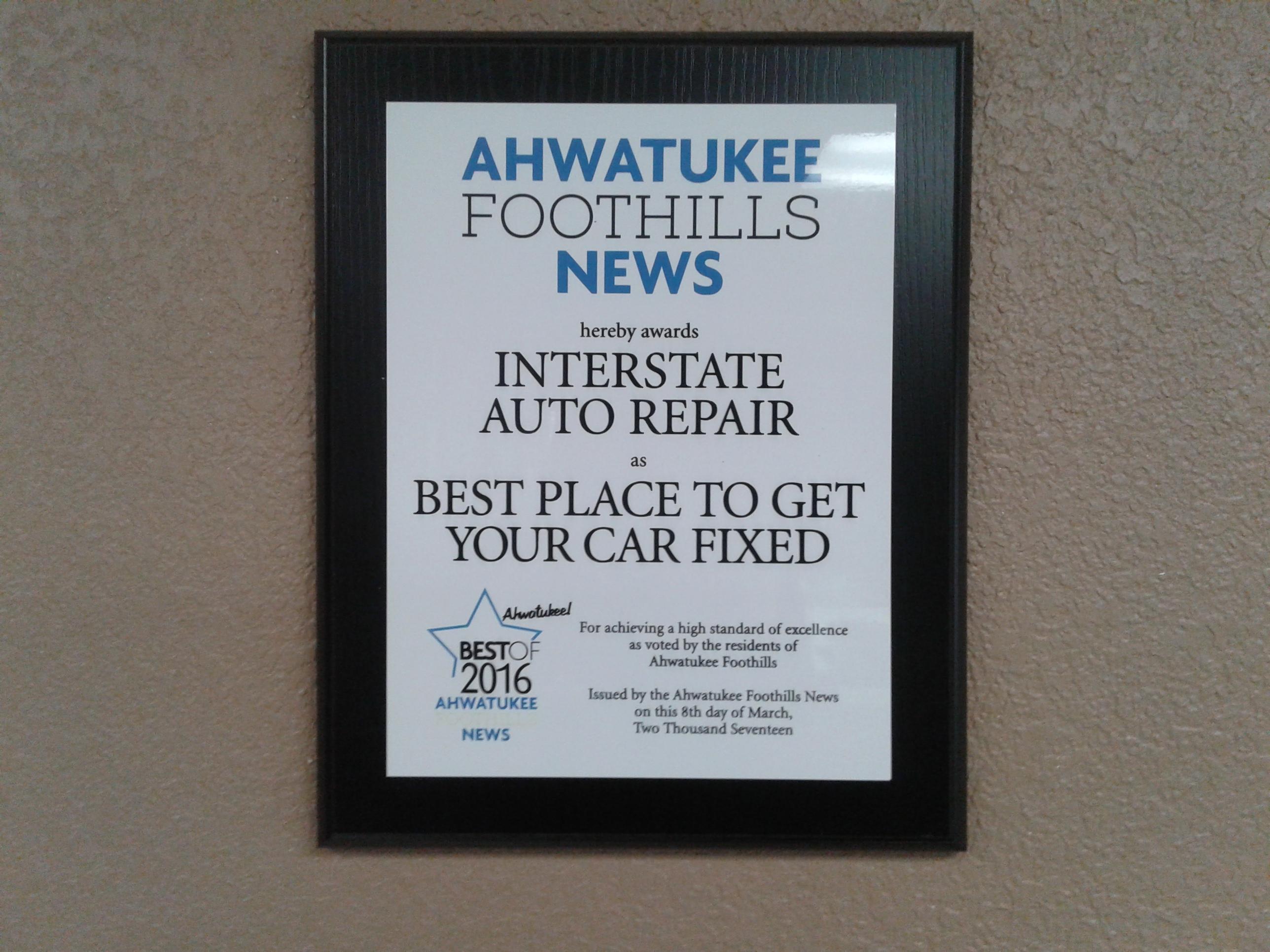 Interstate Auto Repair