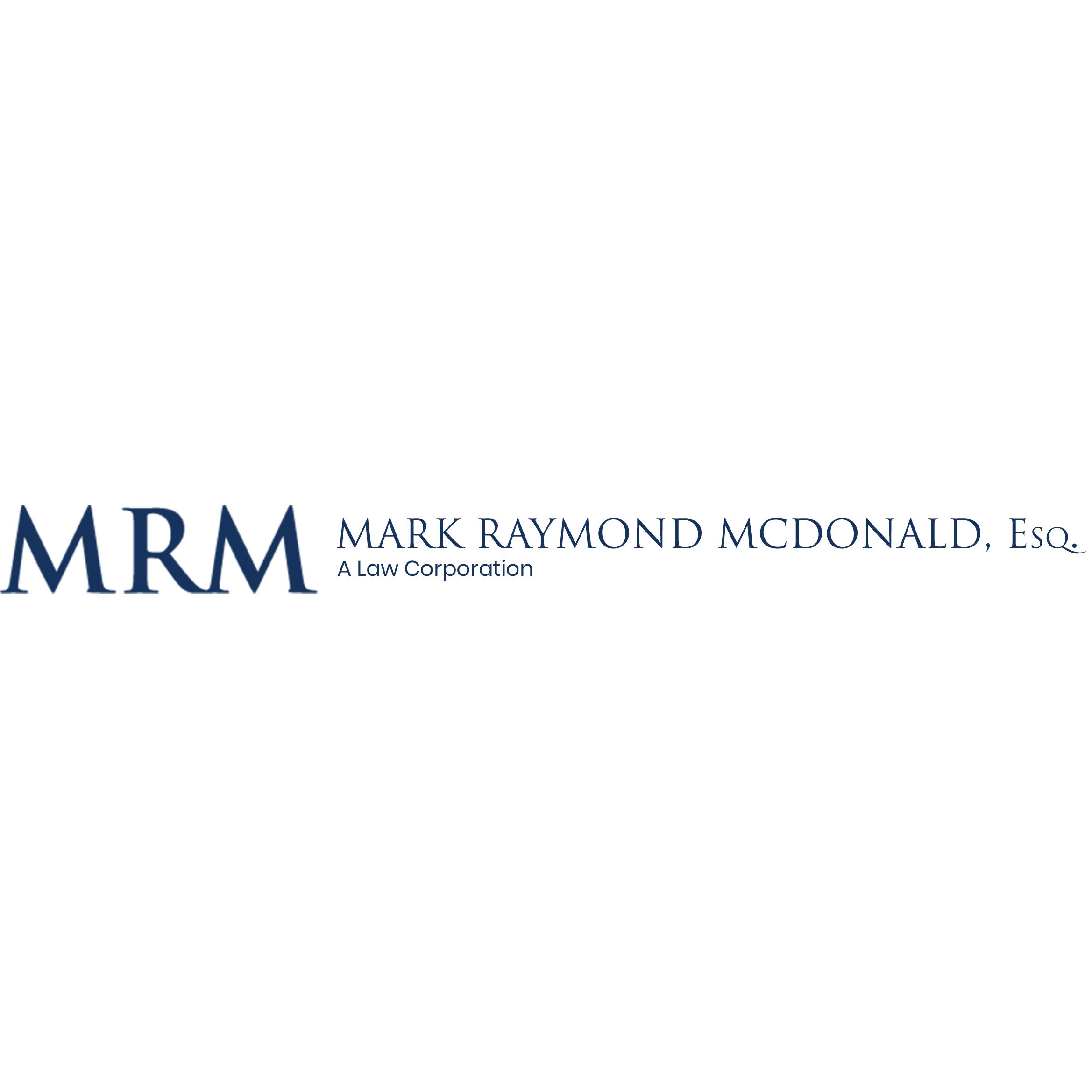 Mark Raymond McDonald, Esq., A Law Corporation image 1