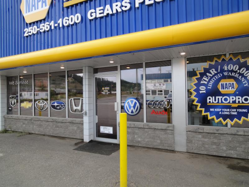 Gears Plus in Prince George