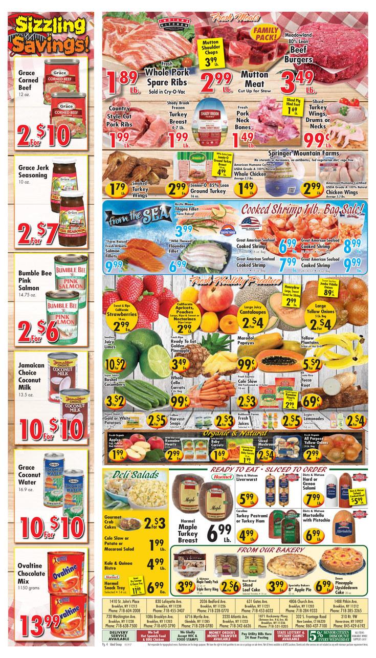 Market Basket Food Codes