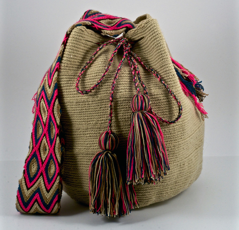 HAND-MADE BOHO BAGS - Each bag is unique with different patterns and colors. 100% authentic South American mochila bags are the must have item that you never knew you needed.