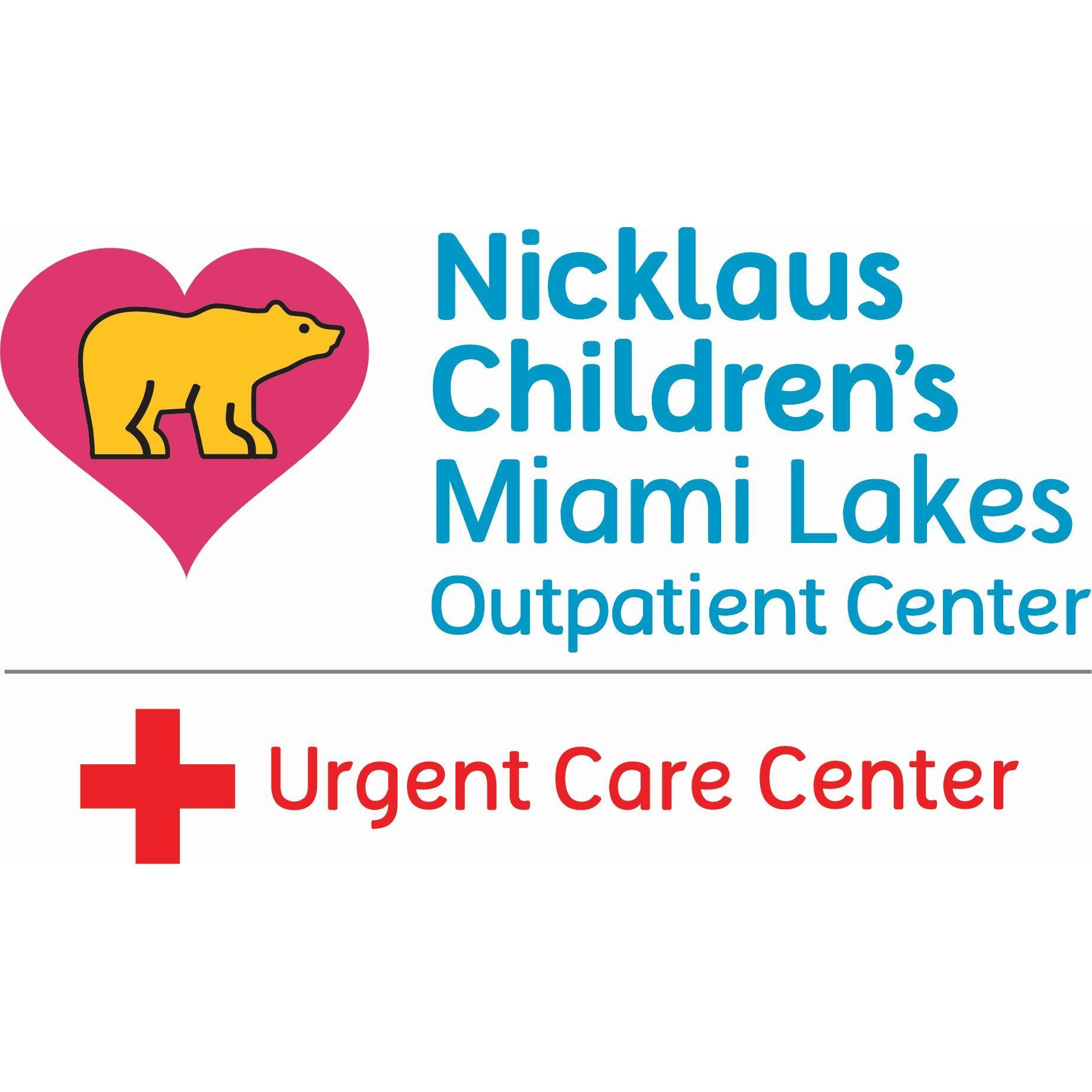 Nicklaus Children's Miami Lakes Urgent Care Center