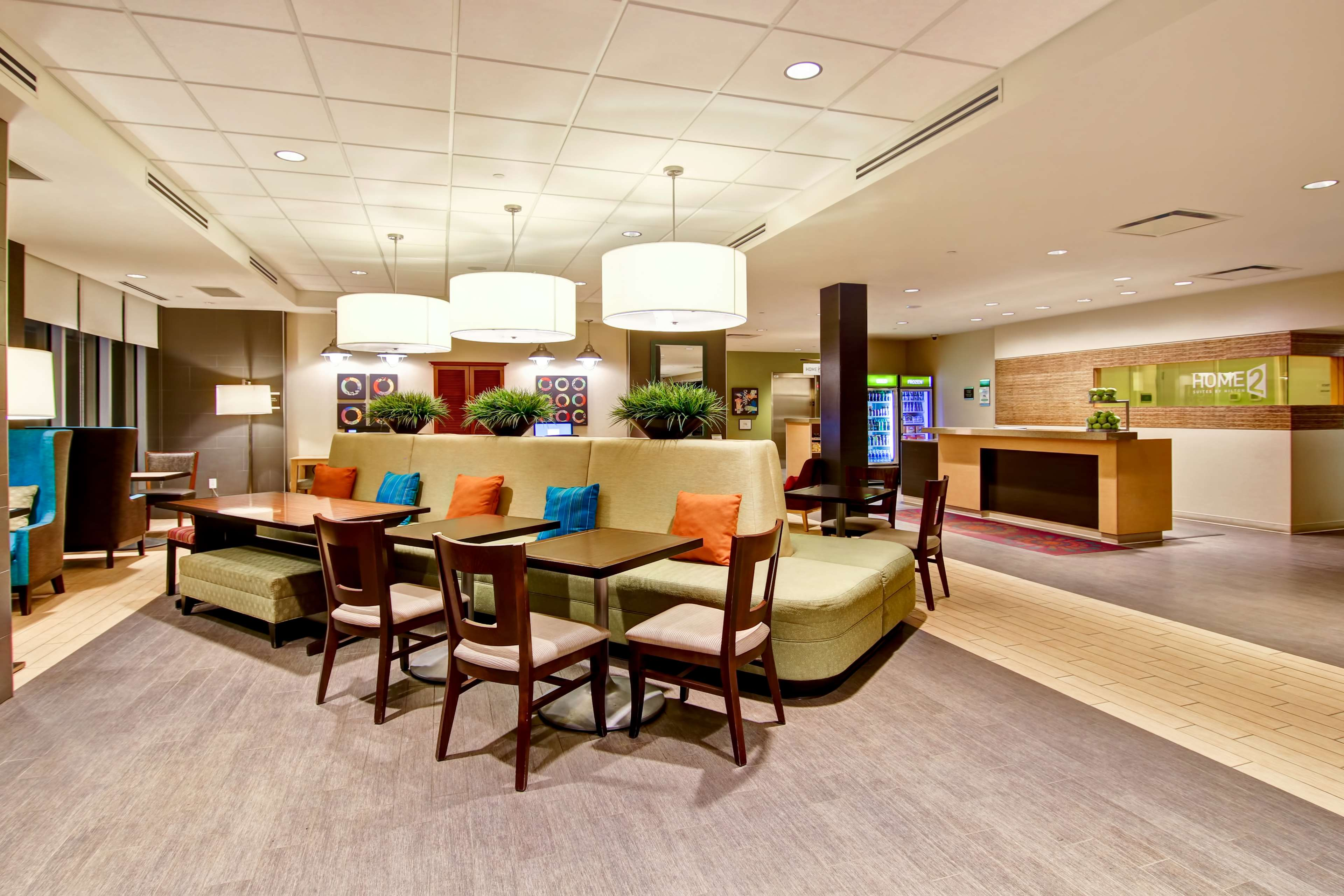 Home2 Suites by Hilton West Edmonton, Alberta, Canada in Edmonton: Lobby