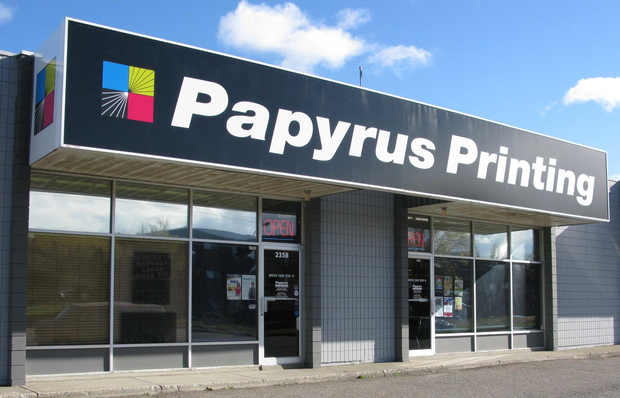 Papyrus Printing Ltd