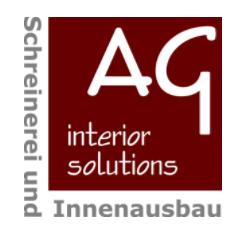 Logo von AG Interior Solutions | Schreinerei & Innenausbau