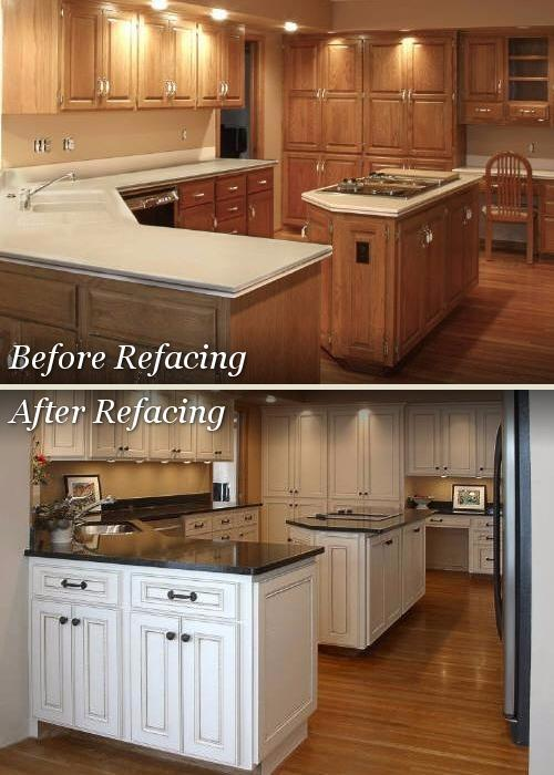 Kitchen tune up citysearch for Cabinet refacing price range