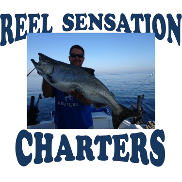 Reel sensation charters milwaukee wi company information for Milwaukee charter fishing