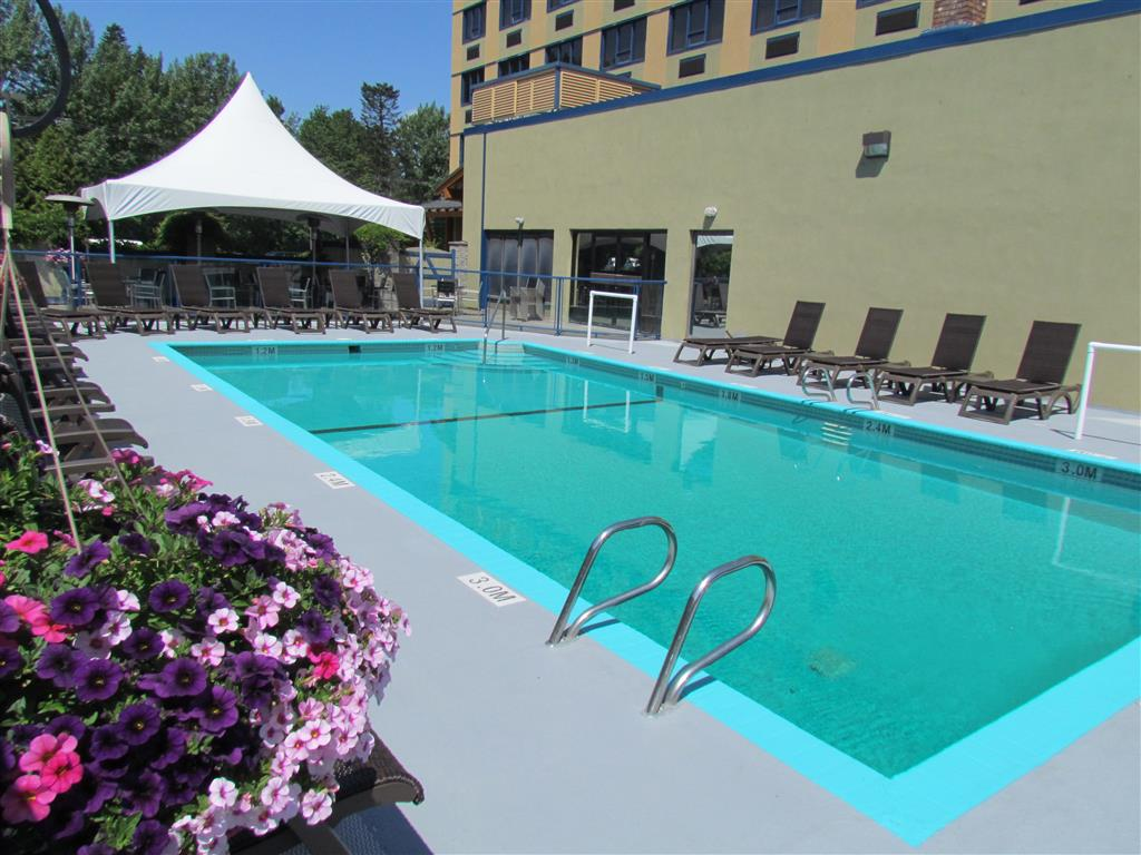 Best Western Plus Barclay Hotel in Port Alberni: Enjoy our heated outdoor pool.