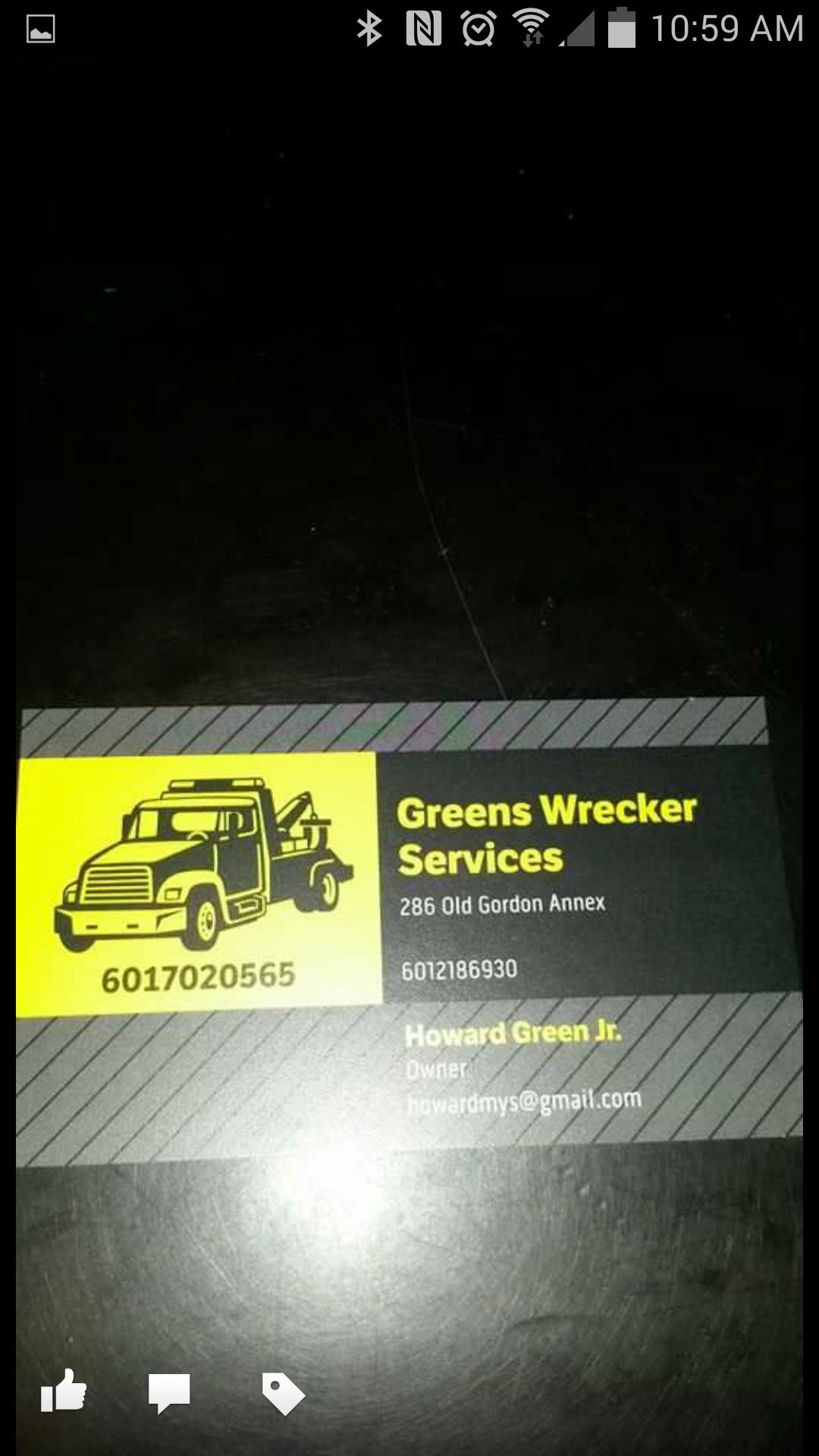 Green's Wrecker Service LLC image 1