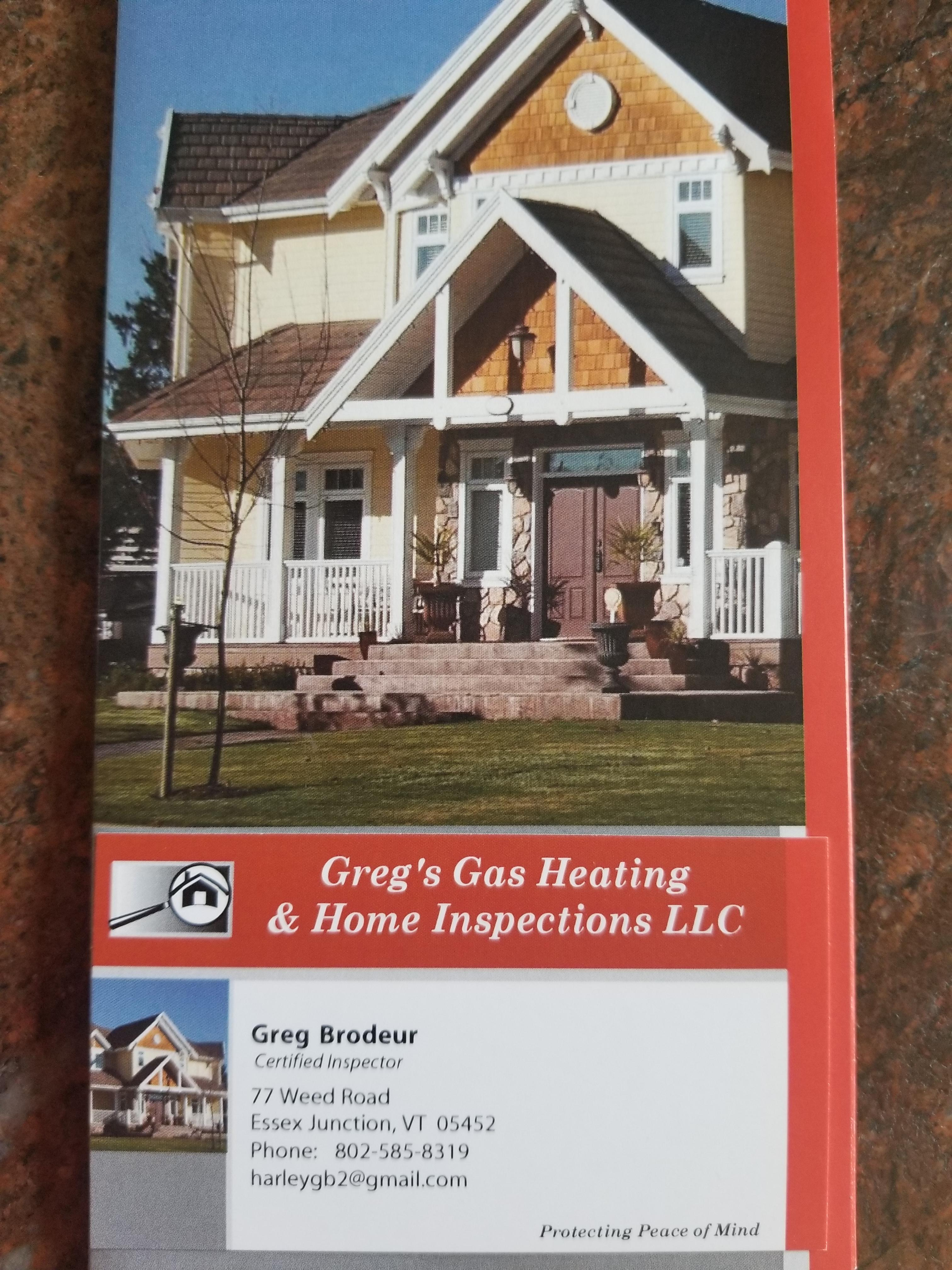 Greg's Gas Heating & Home Inspections LLC image 3