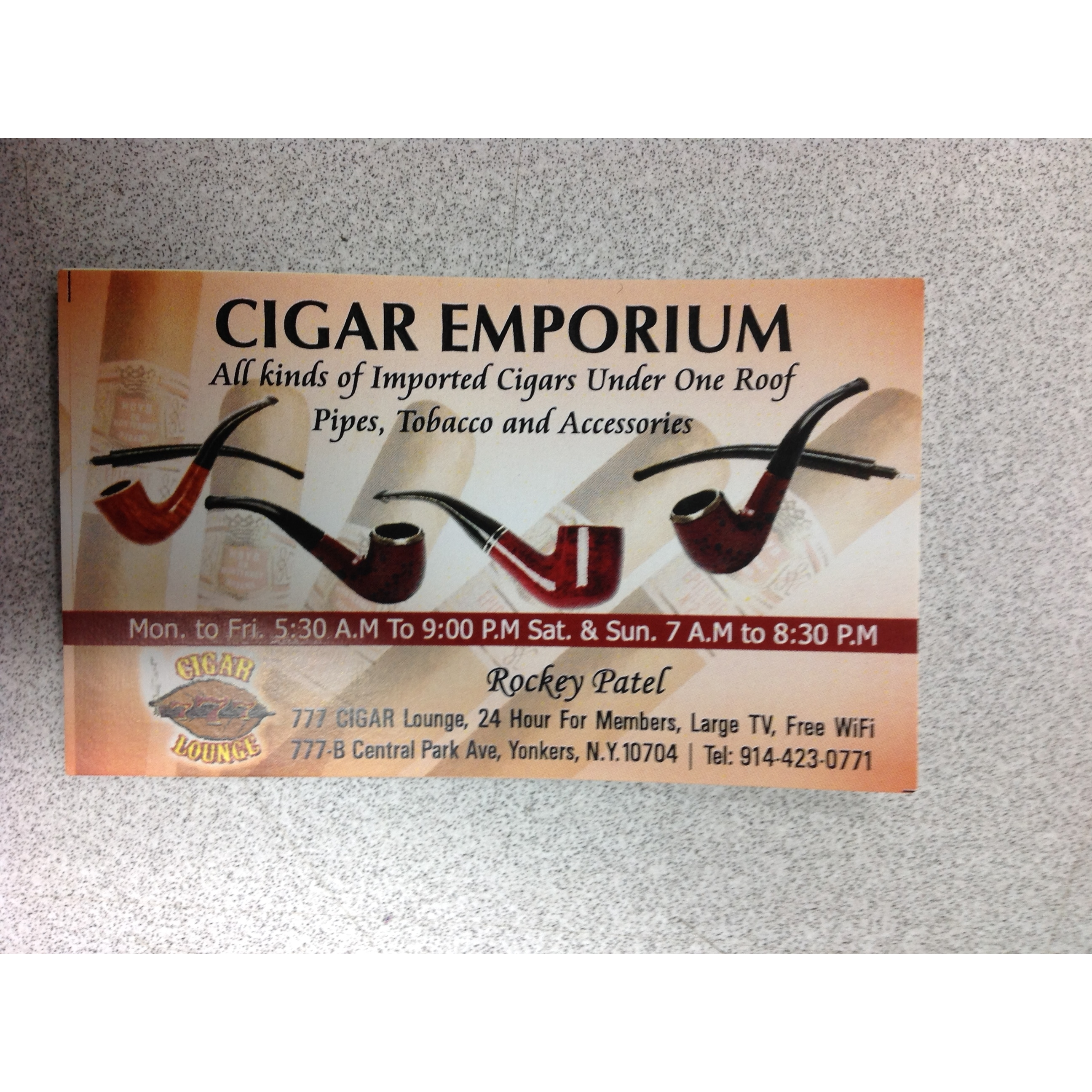 Cigar Emporium and 777 Cigar Lounge - Yonkers, NY 10704 - (914)423-0771 | ShowMeLocal.com