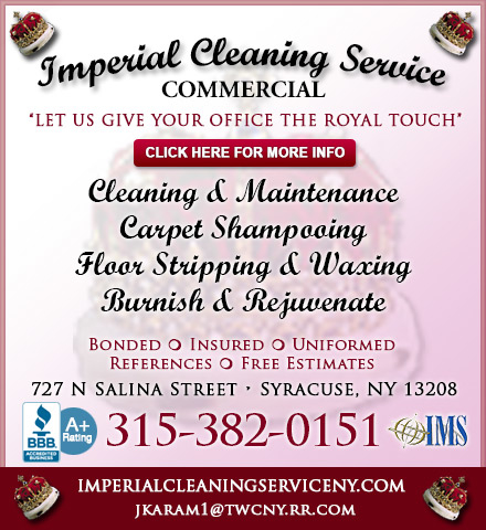 Imperial cleaning service in syracuse ny 13208 citysearch for 120 salon syracuse