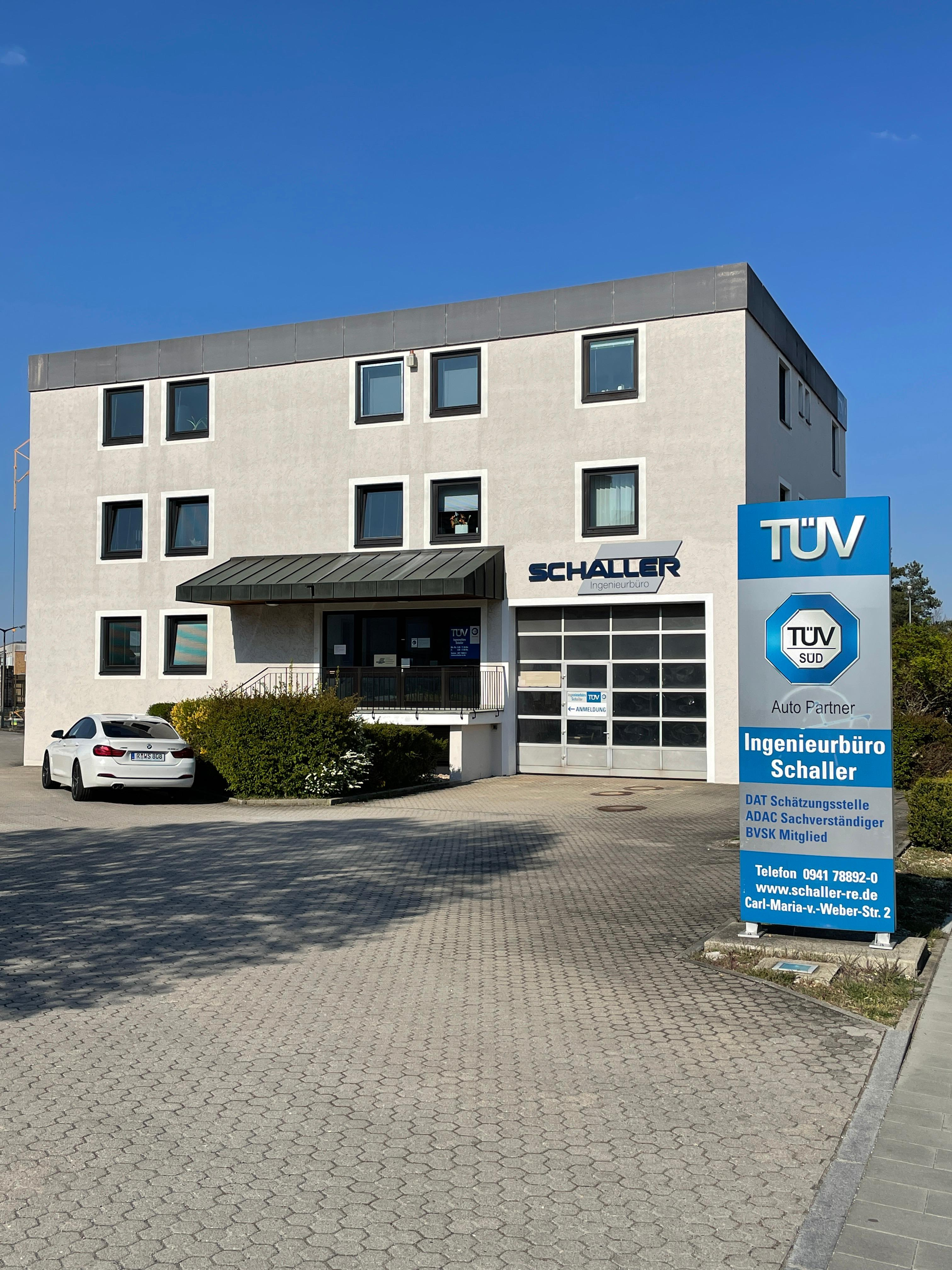 Bild der Schaller TÜV SÜD Auto Partner Regensburg   KFZ Sachverständiger   HU