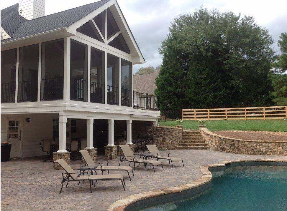 deck builders atlanta ga composite decking pool decks