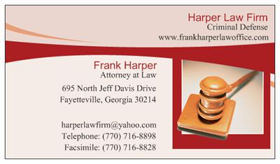 Harper Law Firm - ad image