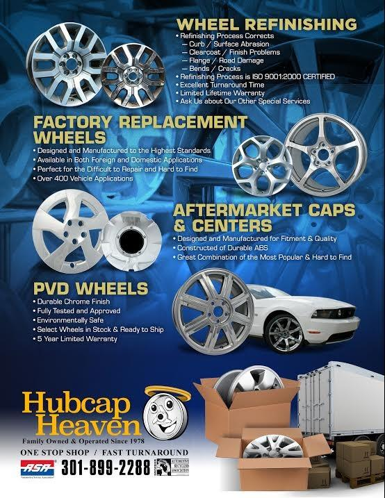 Hubcap Heaven In Suitland Maryland 3514 Old Silver Hill Rd Suitland