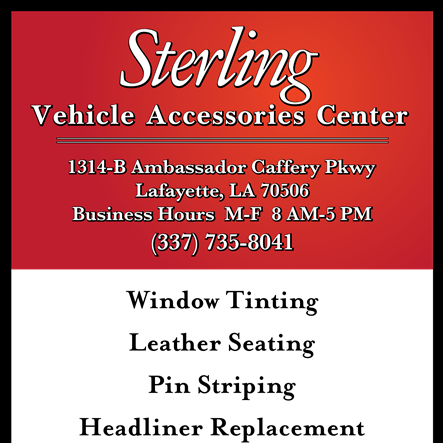 Sterling Vehicle Accessories Center
