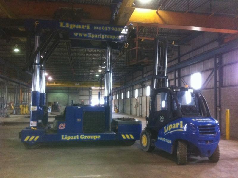 Lipari Group Machinery Mover à Pointe-Claire