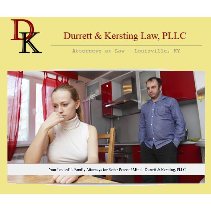 Divorce Lawyer in KY Louisville 40223 Durrett & Kersting Law, PLLC 1300 Clear Springs Trce #4 (502)420-2863