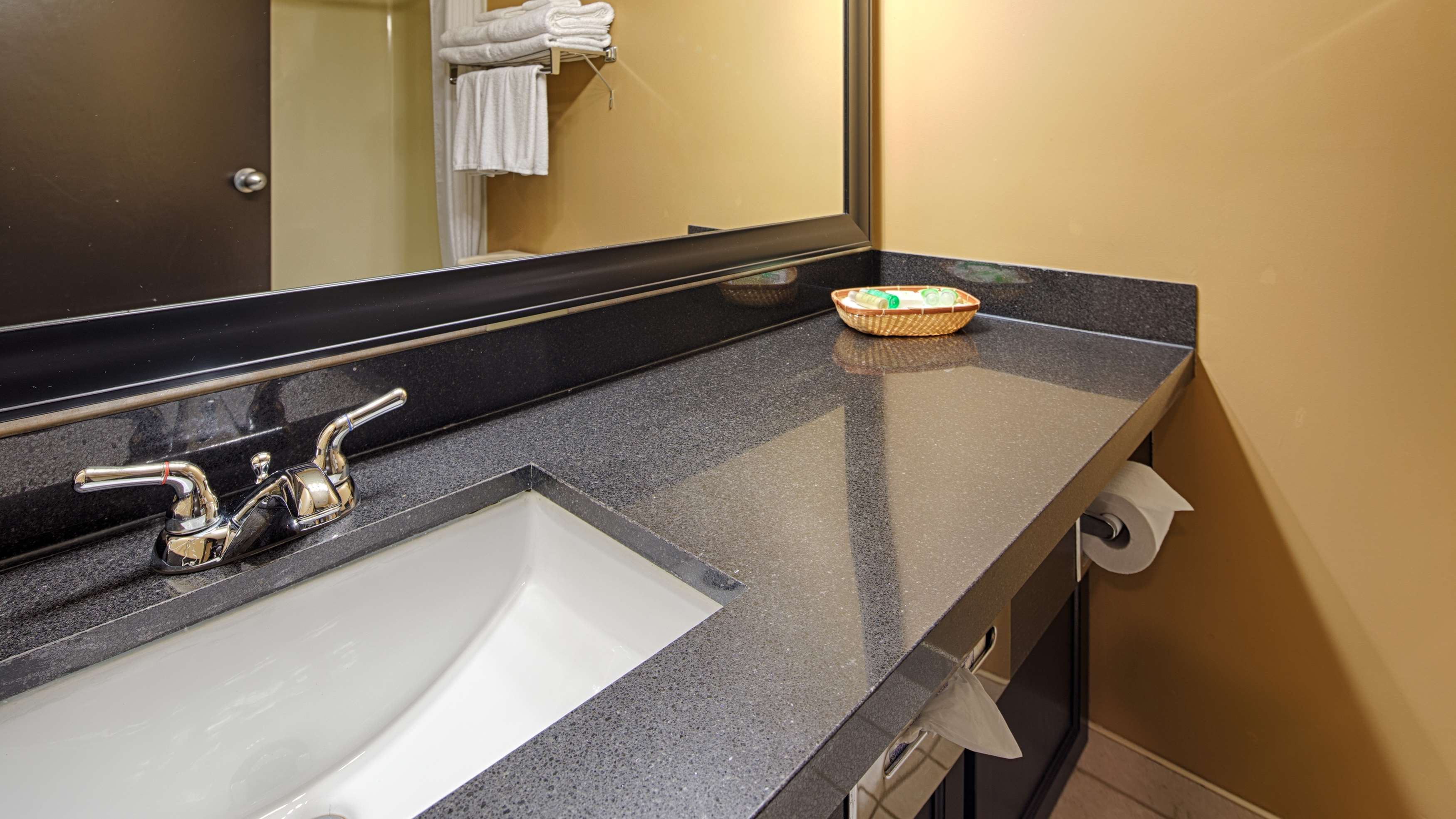 Best Western Seven Oaks Inn in Regina: Guest Bathroom