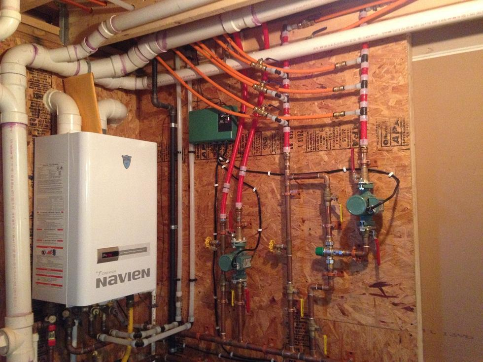 Plumbing, Heating, & Hot Water for some great customers in Trumansburg NY