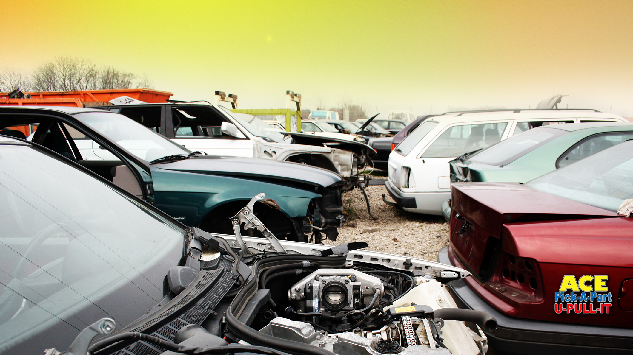 Old Fashioned Pick A Part Scrap Yard Image Classic Cars Ideas