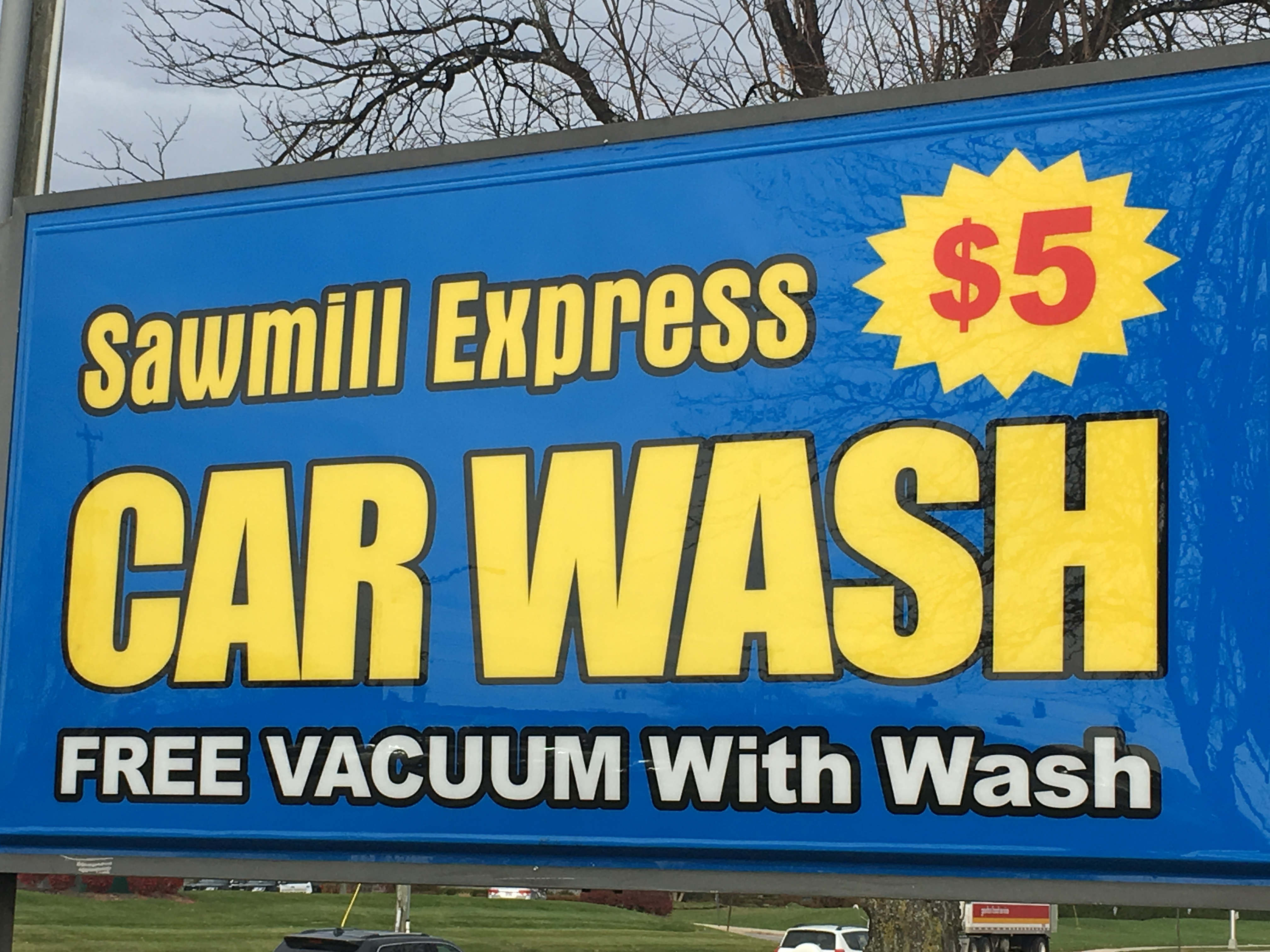 Sawmill Express Car Wash