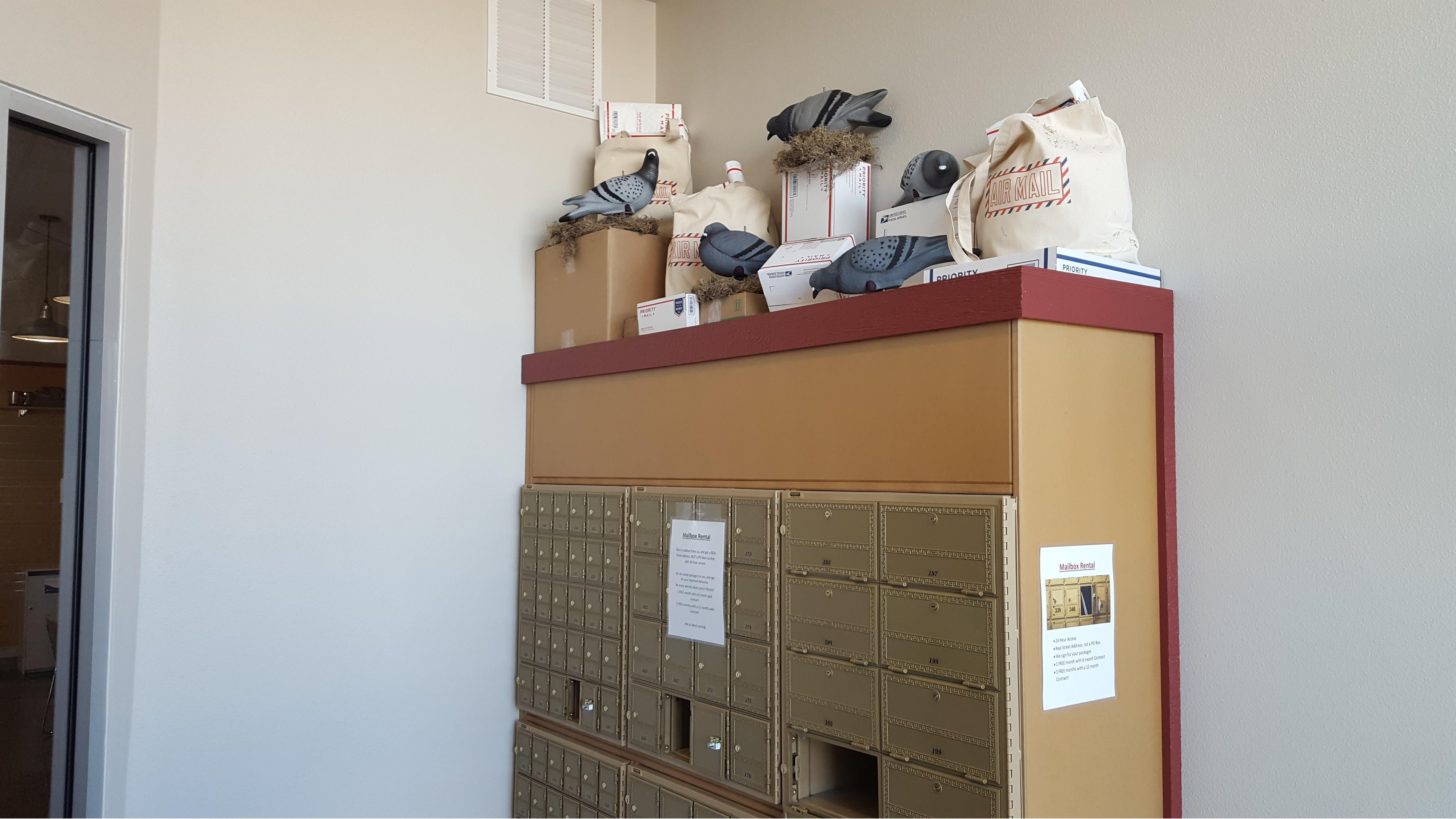 Red Aero Pack Mail Ship image 3