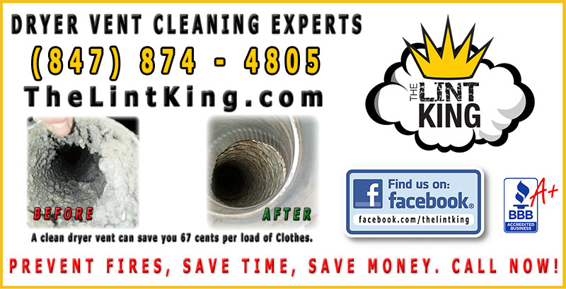 A clean dryer vent can save you 67 cents per load of Clothes. Professional Dryer Vent Cleaning.