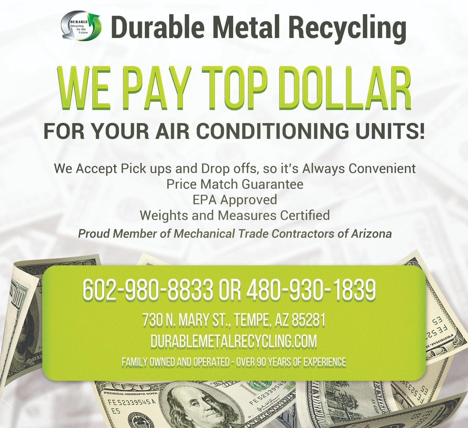 Durable Metals