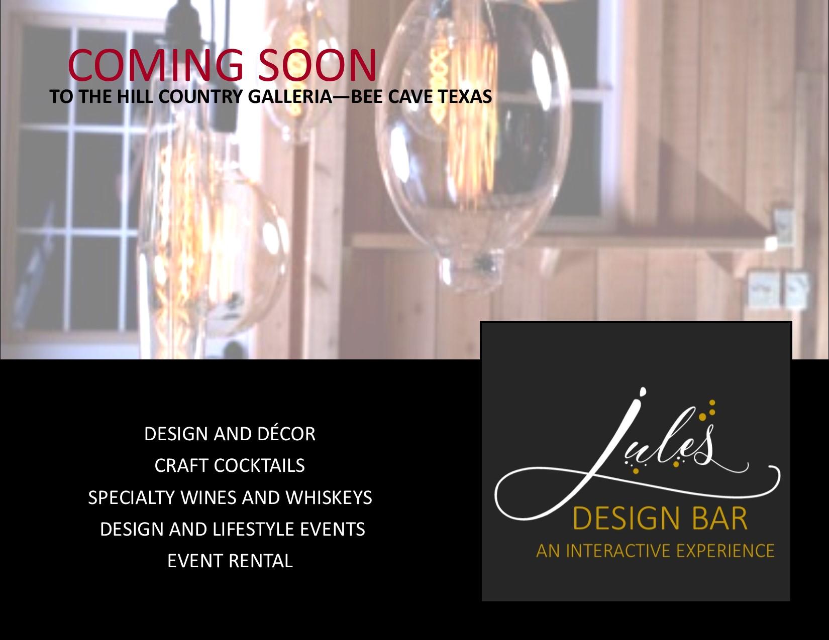 Jules Design Bar