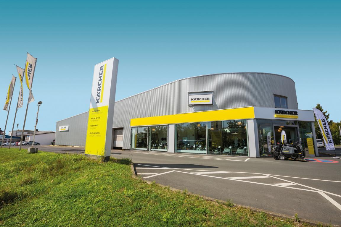 Alfred Kärcher Vertriebs-GmbH – Niederlassung Oberursel, Langwiesenweg 1a in Oberursel