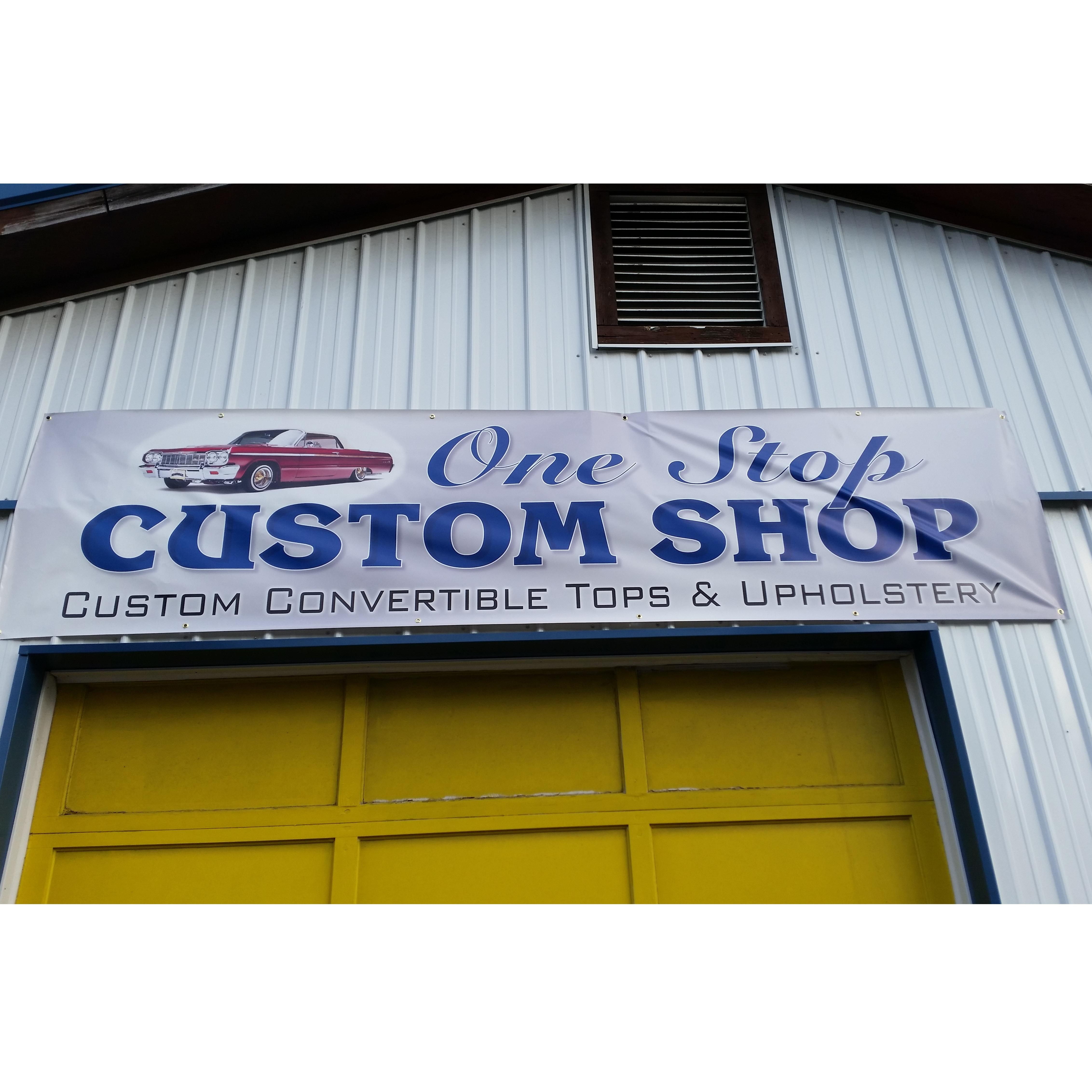 one stop custom shop custom convertible tops and upholstery coupons near me in jamestown 8coupons. Black Bedroom Furniture Sets. Home Design Ideas
