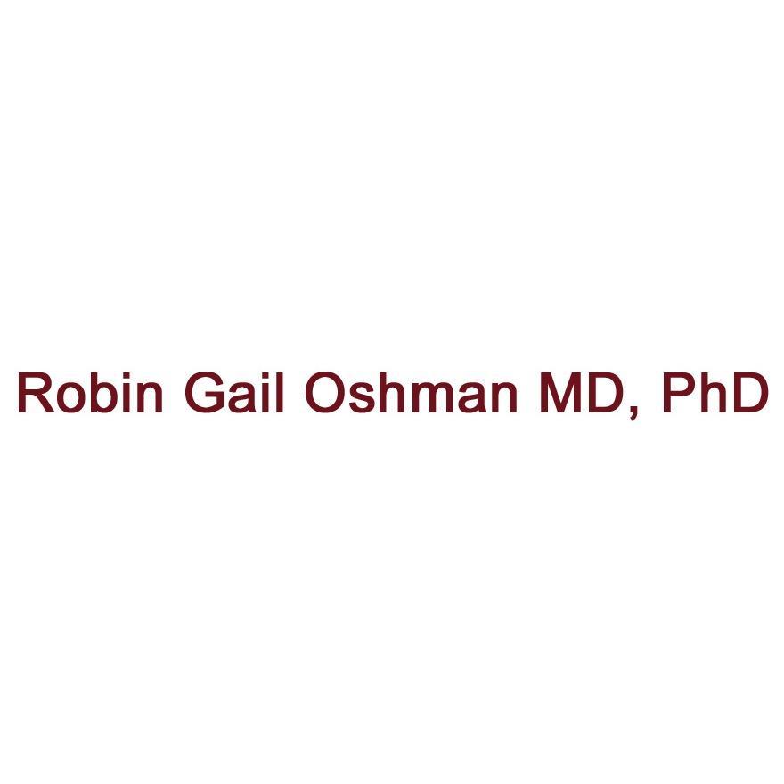 Robin Gail Oshman MD, PhD