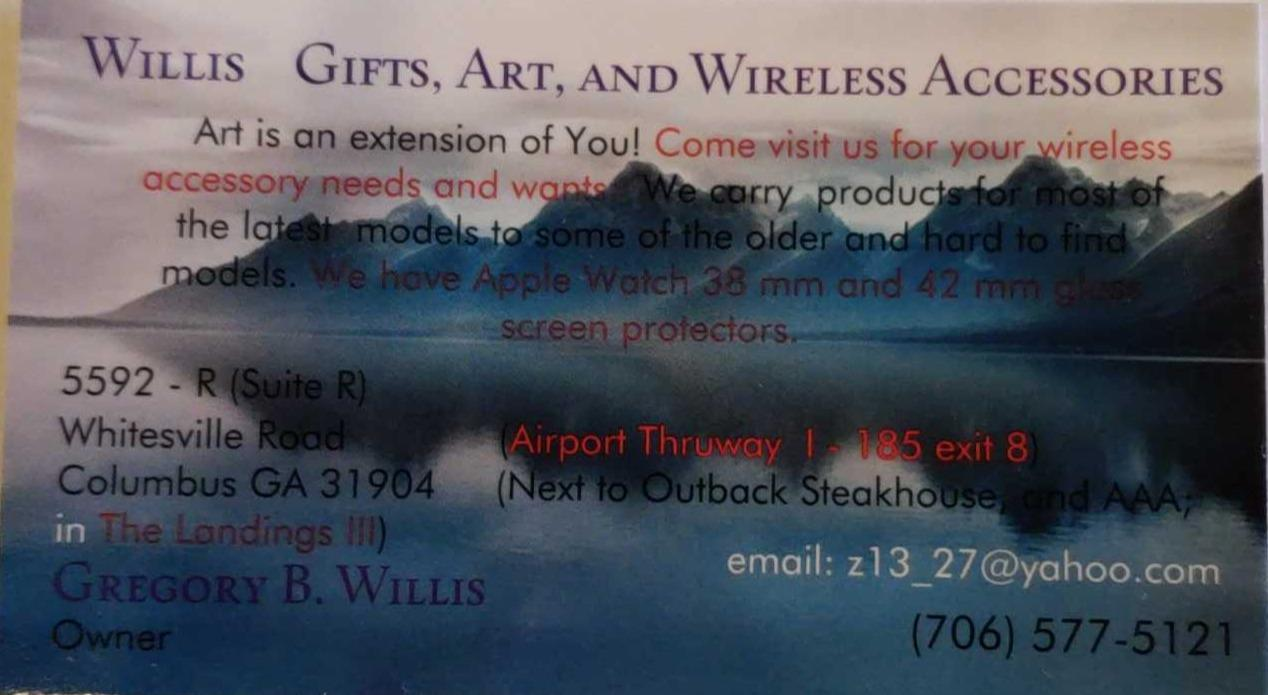 Willis Gifts, Art, and Wireless Accessories